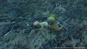 モンハンライズの倒れたアイルーの画像
