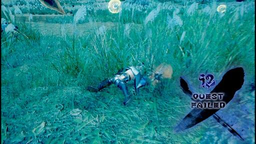 モンハンライズミッション失敗の画像